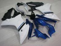 Wholesale Honda Cbr F - Plastic Fairings for Honda CBR600F 13 ABS Fairing CBR600 F 11 White Blue Fairing Kits CBR 600 F 12 2011 - 2013