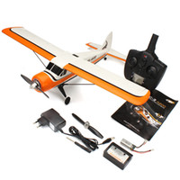 ingrosso sistemi aerei-All'ingrosso-XK DHC-2 A600 5CH 3D6G System Brushless RC Airplane RTF