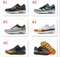 Wholesale Shoes Mans Air 87 - New arrival Drop Shipping Famous Air 1 Atmos Multi-Color 87 Mens Sports Casual Shoes Athletic Sneaker Shoes Size 40-46