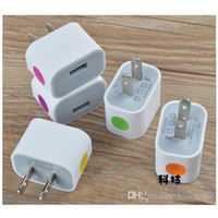 Wholesale Apple Power Cube - 1.5A US White Wall Charger Adapter For Cell Phone iPhone 6 Plus Samsung GALAXY S5 S6 Edge HTC Cube USB Power Charger