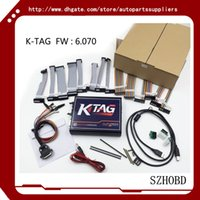 Wholesale Toyota Ecu Programming Cable - 2017 V2.11 FW V6.070 KTAG K-TAG ECU Programming Tool Master Version with Unlimited Token