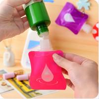 Wholesale Wholesale Hand Sanitizer Dispenser - Wholesale- 10PCS Mini Portable 30ml Dispenser Bottle shower gel shampoo bottles travel essential Liquid Remover Hand Sanitizer Containers