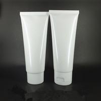 ingrosso tubi cosmetici di plastica-100g tubo cosmetico packaging cosmetico detergente per il viso spremere bottiglia di plastica tubi cosmetici lavaggio crema per le mani (7)