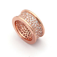 Wholesale Cheap Rose Gold Jewelry - Cheap wholesale jewelry small waist full diamond star luxury rose gold ring and small waist ring