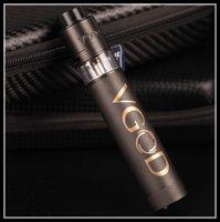 Wholesale Drip Tips Black - HOT SALE!!! VGOD pro mod mech Kit trick tank vaporizer delrin drip tip single 18650 mod kit Free Shipping