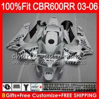 Wholesale repsol silver online - 8Gifts Colors Injection For HONDA CBR RR Repsol silver CBR600RR HM10 CBR RR F5 CBR600F5 CBR600 RR Fairing