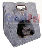 Wholesale cave beds online - Top sales Favourite in function pet bed cave carrier soft crate sets up in seconds is easy to carry and go Cave Bed Carrier Bag