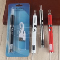 Wholesale Ego Starter Bottom - MT3 Bottom Coil Heating Tank Clearomizer Vape eVod eGo Starter Blister Kit UGO V2 USB Cable Vaporizer Pen 650 900 mah 510 Battery