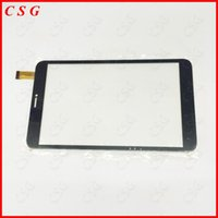 Atacado 205 * 120mm Para Sky Q8 M410 3G 100% Novo Touch Screen PanelReplacement Digitizer Vidro Capacitivo Touch Externo