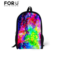 Amazing Galaxy Printing Backpacks для подростков Дети Замечательная Вселенная Mochila Infantil Feminina School Students Book Bags