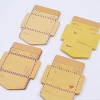 Wholesale Envelope Memo Pads - Wholesale- 45 pcs pack New Antique Romantic Envelope notepads   paper note Memo pad   Writing scratch pad