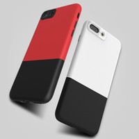 Wholesale Double Color Soft Tpu Case - DUZHI Hybrid Series Double Color TPU PC 2 in 1 Case for iPhone 7 7Plus Soft Hard Back Cover