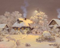 Wholesale Unique DIY D Square Diamond Painting Snow House Cross Stitch Kit Embroidery Rhinestone Home Decor Needlework