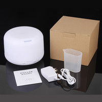 Ultrasonic Humidifier Tabletop / Portable Humidistat DHL Free Shipping High Quality Air Humidifier with Colorful LED Light Mist Maker Essential Oil Aroma Diffuser Ultrasonic With Retail Box