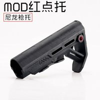 Wholesale Buffer Tube Stock - New drop-in replacement Stock Tactical Impact Resistant Buttstock For AR 15 M16 carbine Mil Spec Buffer Tube QD sling mounting