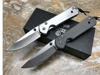 Wholesale D2 Sebenza - Chris Reeve Sebenza 21 Stonewashed Tactical Folding Knife D2 Blade Titanium Outdoor Camping Hunting Survival Pocket EDC Tool with Gift Box