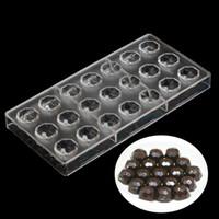 Wholesale Diamond Chocolate Mold - kitchen tools baking mold tools sphere chocolate molds,fancy diamond shape polycarbonate chocolate mold,3d food chocolate mould