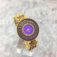 Wholesale Masculine Gifts - Hot sale Women Watch Fashion Big Dial relogio masculine Stainless Steel Luxury Diamonds Steel Bracelet Chain Gift for girls free shipping