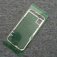 оригинальный аккумулятор samsung galaxy note оптовых-Для Samsung Galaxy S7 G930 s7 edge S6 S6 Edge Note 5 N920 Новый Оригинальный Корпус Аккумулятора Задняя Крышка Скотч