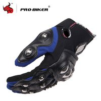 Wholesale Motorcycles Handlebars Gloves - Wholesale- PRO-BIKER Motorcycle Gloves Outdoor full finger knight riding motor Gloves high quality Motorbike handlebar gloves
