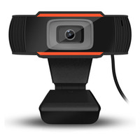 Wholesale Pc Video Record - New 8x3x11cm A870C USB 2.0 PC Camera 640X480 Video Record HD Webcam Web Camera With MIC For Computer For PC Laptop Skype MSN