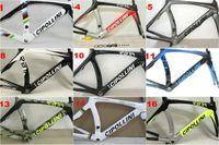 Wholesale Mcipollini Frame - 3K 1K Carbon road frameset MCipollini RB1000 Frame fork headset seatpost painting carbon bicycle frame set