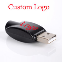 Wholesale Ego Oem - OEM Wireless eGo USB Charger black usb charge adapter for ego 510 thread battery Electronic Cigarette battery