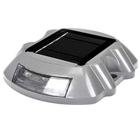 Wholesale Solar Road Stud Lights - Wholesale- Solar Powered 6-LED Driveway Road Stud Pavement Marker Path Step Stair Light Store 48