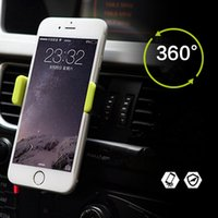 Wholesale apple outlets - Outlet Car phone holder Plastic Apple Car holder 360 ° rotation Safety anti-slip Easy to fix Free DHL