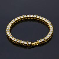 bracelet à main de nouveaux styles achat en gros de-2017 Nouvelle Marque Accessoires Mens De Mode De Luxe Gem Bracelets 18K Plaqué Or Bijoux À La Main de style Européen et Américain