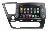 Civic Saloon special buses - Quad Core Android Car Radio dvd gps for Honda Civic Saloon With G WIFI Bluetooth TV USB Mirror link Can bus Car DVD
