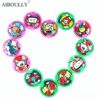 Wholesale Tv Wrist Watches - [AIBOULLY] Japanese Anime Yokai Watch DX Peripheral Yo-Kai Wrist Watch Medals Collection Emblem Toy 879
