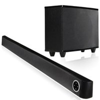 Wholesale Building Home Design - aluminum alloy WIFI 5.1 ch 150w Built-in DSP system sound of nature high-end soundbar designed for TV with surging bass subwoofer