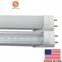 Wholesale 26w Led Tube - CE ROHS FCC 4ft 22W 26W T8 G13 Led Tube SMD2835 High Bright light 1500-2400lm 85-277V fluorescent lighting 3 years warranty