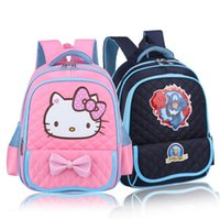 Wholesale Backpack Old School - Children's backpack A primary school pupil's school bag Children's cartoon backpack for 4 to 7 years old boys and girls