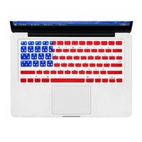 Zimoon US versione di alta qualità negli Stati Uniti. CIRCA. AU. UK. CHN Flag Cover per tastiera per MacBook Air 13 pollici Pro 13 15 17 pollici
