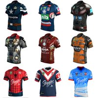 Wholesale Cowboy Brisbane Broncos Manly Sea Eagles Melbourne Storm Newcastle Knights Men S South Sydney Mustang Roosters Spider Man NRL Rugby Jerseys