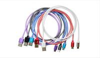 braided cable оптовых-3 м micro 5pin ткань рыба net плетеный металлическая головка micro usb кабель для передачи данных шнур для samsung S3 S4 примечание 2 новый
