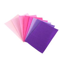 Wholesale Wholesale Craft Felt Sheets - 40pcs set Nonwoven Fabric Square Felt Sheet For Sewing Craft DIY 10*15cm ssorted Fabric Square Embroidery Scrapbooking Craft