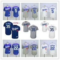 Wholesale Sales Promotion Corey Seager Jersey Clayton Kershaw Cody Bellinger Los Angeles Dodgers Baseball Jersey Flexbase White Blue Grey