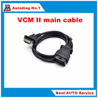 Wholesale Vcm Ford Volvo - VCM II main cable VCM2 vcm 2 16pin OBD cable free shipping