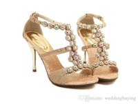 Wholesale Auger Pump - Hot Sexy auger peep-toe sexy hollow out shoes diamond fine follow sandal high heels Female shoes DHL free
