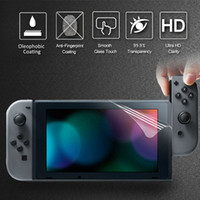 Wholesale Nintendo Screen Protectors - For Nintendo Switch Screen Protector Screen Protector Cover Skin Soft Thin Film For Nintendo Switch NS Accessories