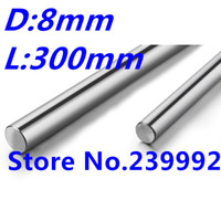 Wholesale linear shaft mm mm long harden linear rod chrome plated linear motion guide rail round rod Shaft for cnc parts