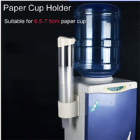 Wholesale Paper Folding Cup - 1pc New Plastic Automatic Disposable Paper Cups Storage Holder For Water Dispenser