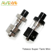 auténticos mini sub tanques al por mayor-Tobeco Supertank mini atomizador 4 ml Top de llenado del tanque Sub Ohm Compatible con original Super Tank bobinas 100% auténtico