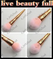 Wholesale Brush Outlet - factory outlet 5pcs Rose Gold LIVE BEAUTY FULLY Loose powder brush, blush brush, honey brush, beauty cosmetics, cosmetic brush Free delivery