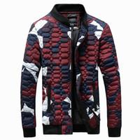 Wholesale Parka Man Xxl - Wholesale- new arrivals fashion men winter jacket army camouflage hooded down parka 2 color M L XL XXL 3XL AA9