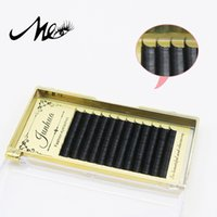 Wholesale Full Length Mink - Mei Xuan Mink hair False Eyelashes good quality eyelash extension with 0.5cm -1.5cm length free shipping