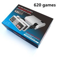 Wholesale Tv Game Wholesalers - TV Handheld Game Console Mini Portable Video Game Player Console For Nintendo NES Windows PC Mac with 620 Built-in Games With Box